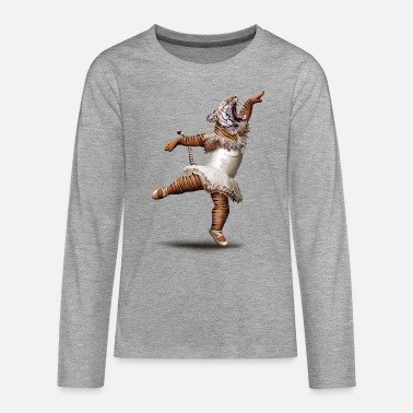 Tiger KILLER DANCE MOVE - Teenager Premium Langarmshirt
