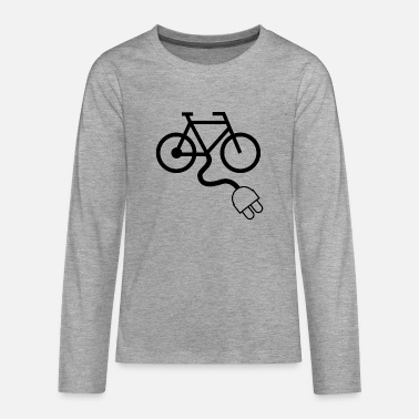 e-bike - Teenager Premium Langarmshirt