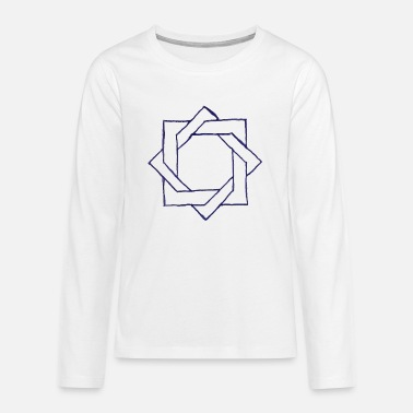Cool pattern drawing shape abstract creative fashion - Teenage Premium Longsleeve Shirt