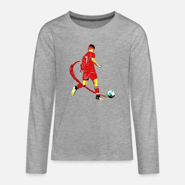 Football football - Teenage Premium Longsleeve Shirt