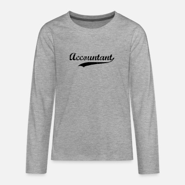Swoosh Accountant Swoosh - Teenage Premium Longsleeve Shirt