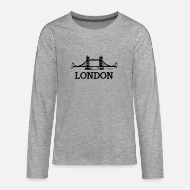 London london - Teenage Premium Longsleeve Shirt