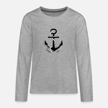 Anchor Summer Love - Summer love - Teenage Premium Longsleeve Shirt