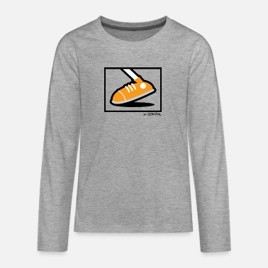 Jimi Jimy's Foot - Teenage Premium Longsleeve Shirt