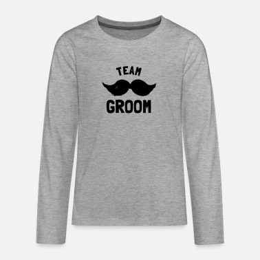 Groom Team Groom - Teenage Premium Longsleeve Shirt