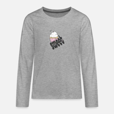 Sweet cupcake - Teenage Premium Longsleeve Shirt