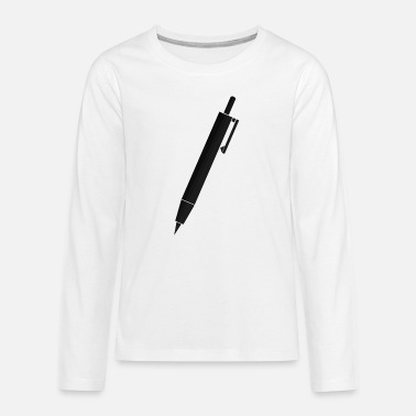 Pen pen - Premium langærmet T-shirt teenager