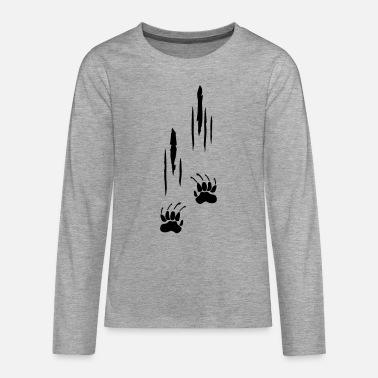Scratches, Claws - Teenager premium longsleeve