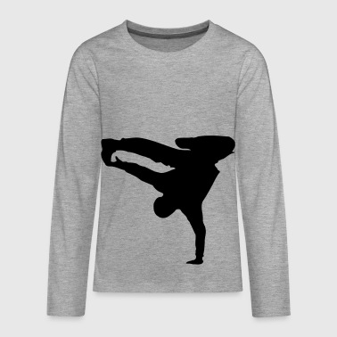Breakdance Breakdancer Style - T-shirt manches longues Premium Ado