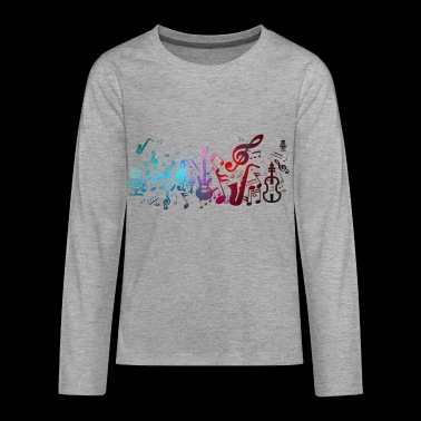 Music - Teenagers' Premium Longsleeve Shirt