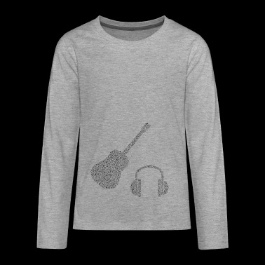 Music gift idea - Teenagers' Premium Longsleeve Shirt