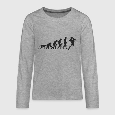 Evolution Skate - Teenager Premium shirt met lange mouwen