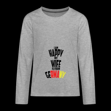 GERMANY - Teenagers' Premium Longsleeve Shirt