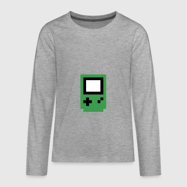 green console - Teenagers' Premium Longsleeve Shirt