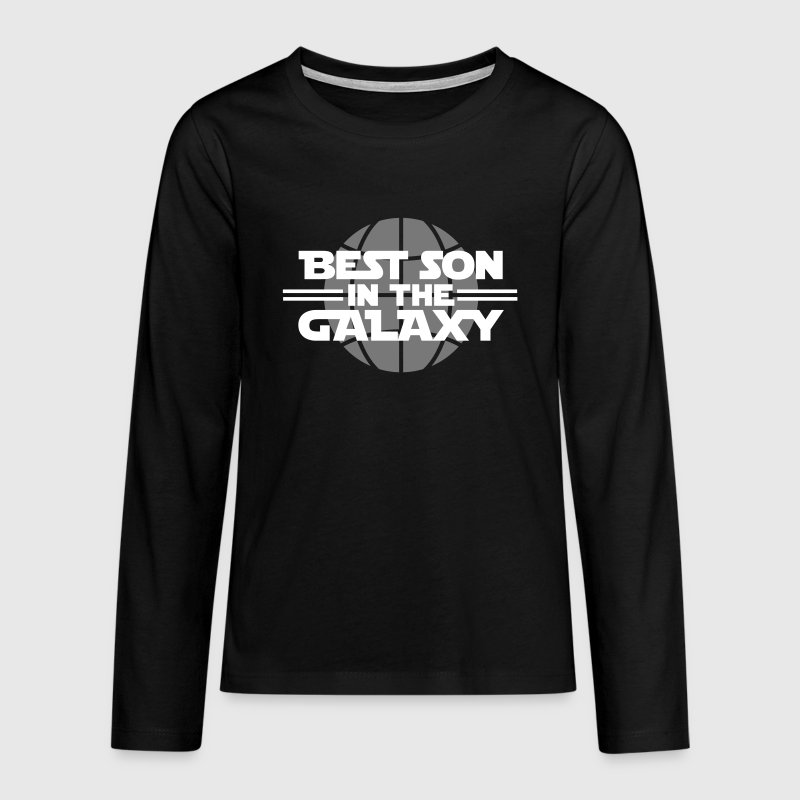 Best Son In The Galaxy - Långärmad premium-T-shirt tonåring