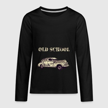 old school - Teenagers' Premium Longsleeve Shirt