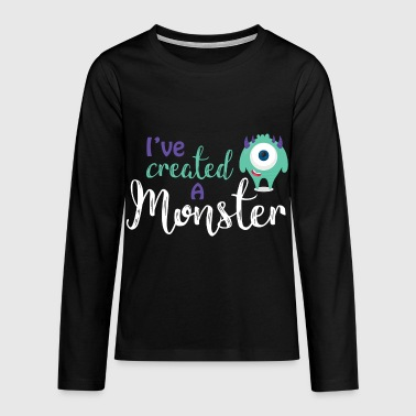 Parents - enfants - Partnerlook - parents Monster - T-shirt manches longues Premium Ado