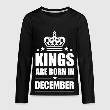 december - Teenager Premium shirt met lange mouwen