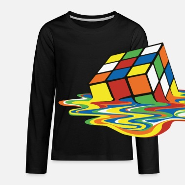 Big Melting Cube - T-shirt manches longues Premium Ado
