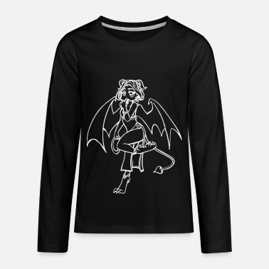 Demo Sweet demoness - Teenagers' Premium Longsleeve Shirt