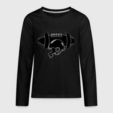 American Football - Teenager Premium Langarmshirt