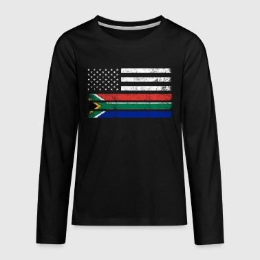 South Africa South Africa - Teenagers' Premium Longsleeve Shirt