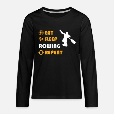 Sports Rowing - gift for men and women - Teenagers' Premium Longsleeve Shirt