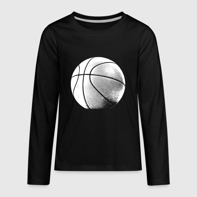 Basketball  - Teenager Premium Langarmshirt
