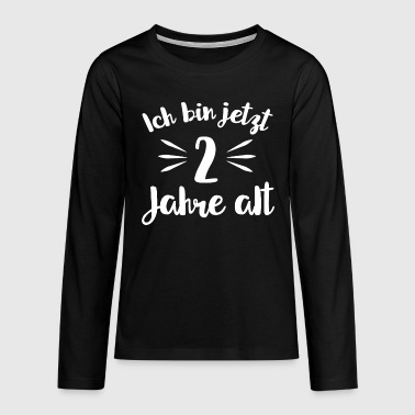 Birthday 2nd birthday - 2 years old - Teenagers' Premium Longsleeve Shirt