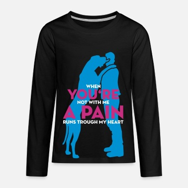 Youre a pain - Teenager Premium Langarmshirt