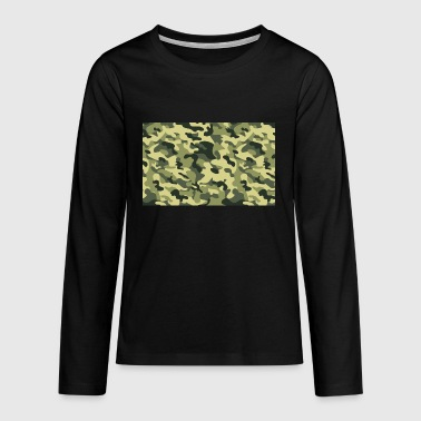 camouflage - T-shirt manches longues Premium Ado