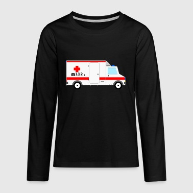 ambulance - Teenagers' Premium Longsleeve Shirt