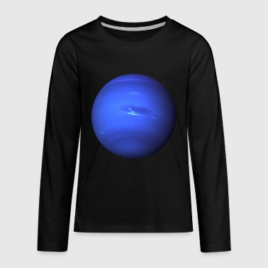 Blaue Planet - Teenager Premium Langarmshirt