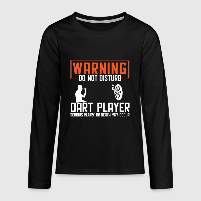 Warning darts - Teenagers' Premium Longsleeve Shirt