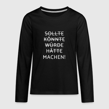 Motivation - motivation - T-shirt manches longues Premium Ado