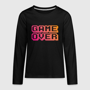 Game Over - Camiseta de manga larga premium adolescente