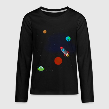 Space - Teenager Premium Langarmshirt
