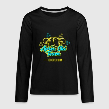 Après Ski Team Fieberbrunn JGA Party Hut T-Shirt - Teenagers' Premium Longsleeve Shirt