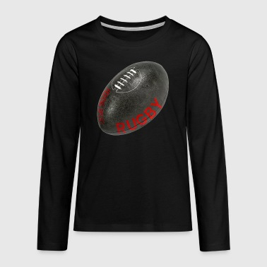 rugby festive 2 - T-shirt manches longues Premium Ado