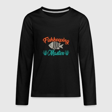 Aquarium - Teenagers' Premium Longsleeve Shirt