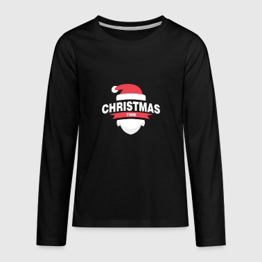 Kerstmis, Advent - Teenager Premium shirt met lange mouwen
