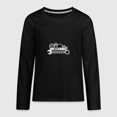 Mechanic mechanic - Teenagers' Premium Longsleeve Shirt