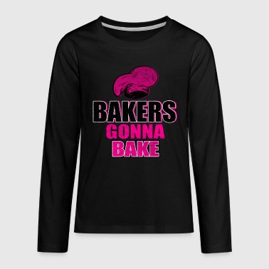 Bäcker Backen - Teenager Premium Langarmshirt
