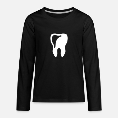 Tooth Tooth - Teenagers' Premium Longsleeve Shirt