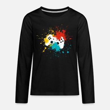 Console Gaming console - Teenage Premium Longsleeve Shirt