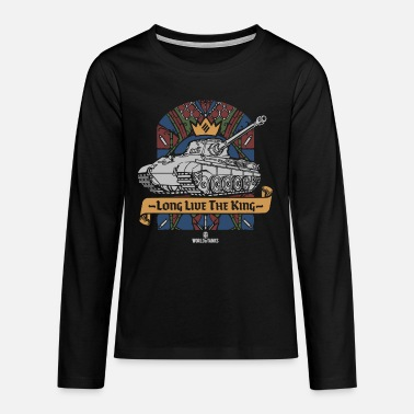 World of Tanks Long Live The King - Teenage Premium Longsleeve Shirt