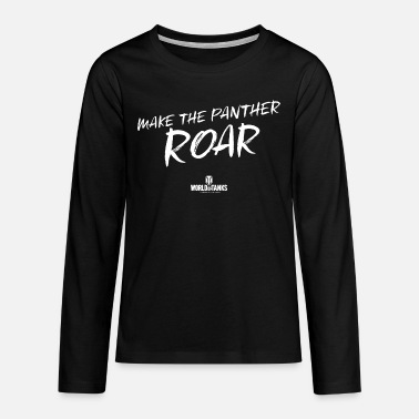 World of Tanks Make The Panther Roar - Teenage Premium Longsleeve Shirt