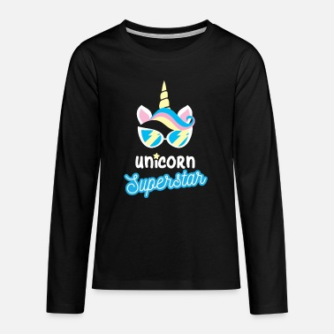 Unicorns Unicorn Unicorns - Teenage Premium Longsleeve Shirt