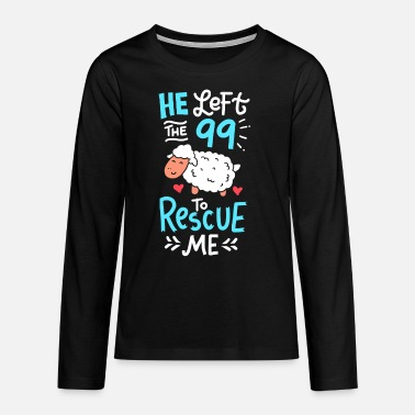 Bible quotes - Teenage Premium Longsleeve Shirt