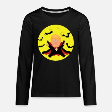 Trumpula Anti Trump Halloween - Teenage Premium Longsleeve Shirt
